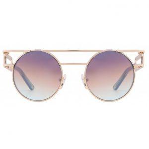 Mokki Solbrille #2254 med 18k gullbelagt brilleramme