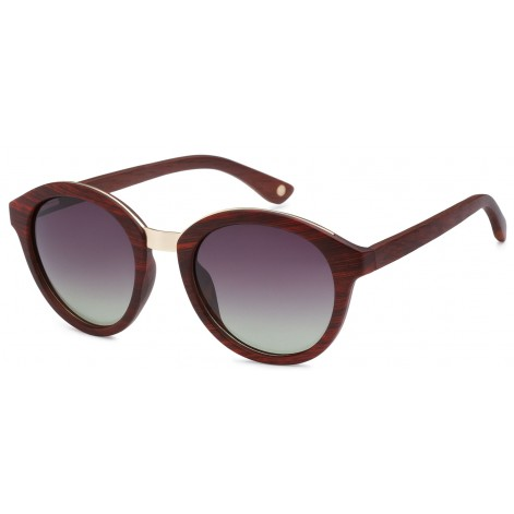 Mokki Sunglasses for men and woman #2198 - red - wood