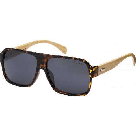 Mokki Sunglasses for men and woman #2137 - brown - wood