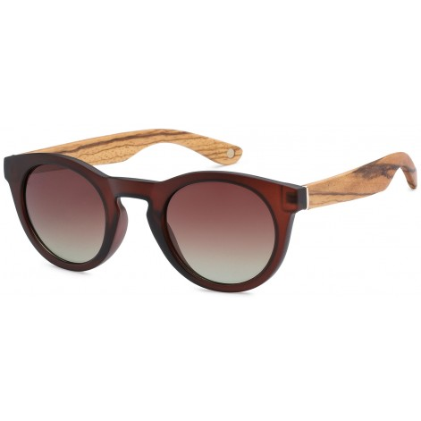 Mokki Sunglasses for men and woman #2196 - red - wood
