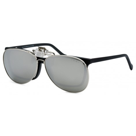 Mokki Sunglasses clip for men woman  #2232 - silver