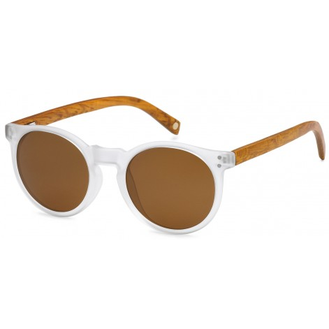 Mokki Sunglasses for men and woman #2197 - brown - wood