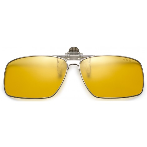Mokki Sunglasses clip for men woman  #2233 - yellow