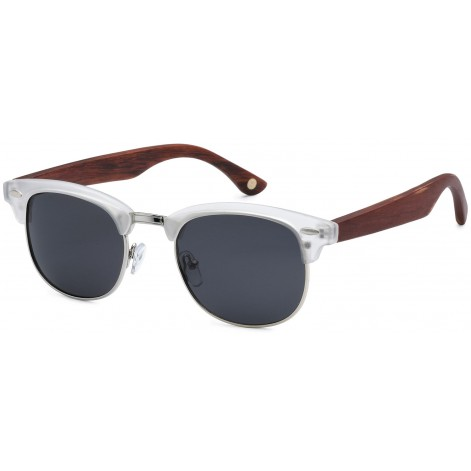 Mokki Sunglasses for men and woman #2199 - white - wood
