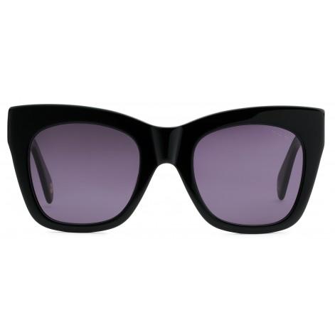 Mokki Solbriller #2201 svarte cat-eye