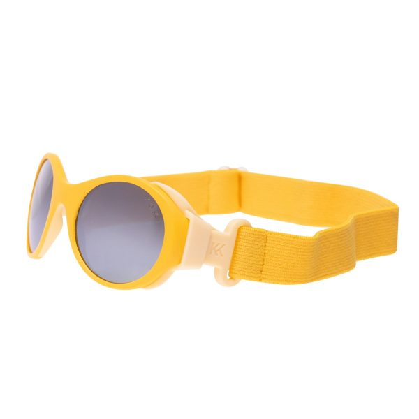 Mokki Sunglasses for kids click and change with headband yellow
