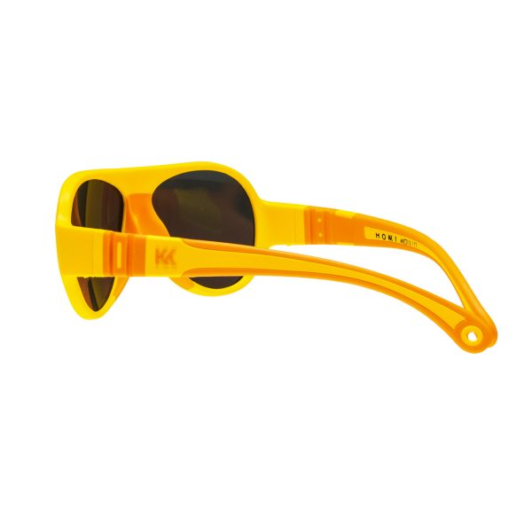 Mokki Sunglasses for kids click and change yellow