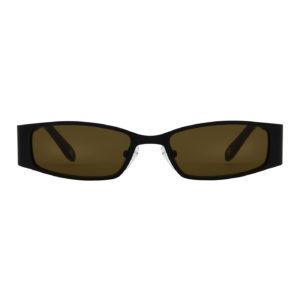 Solbrille #2283 Mokki med tynne brille rammer