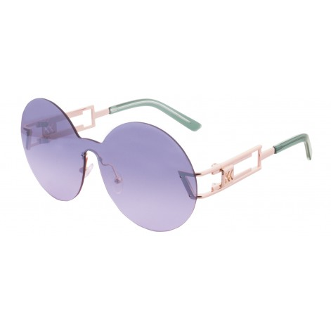 Mokki Sunglasses for woman #2262 oversized round frame purple