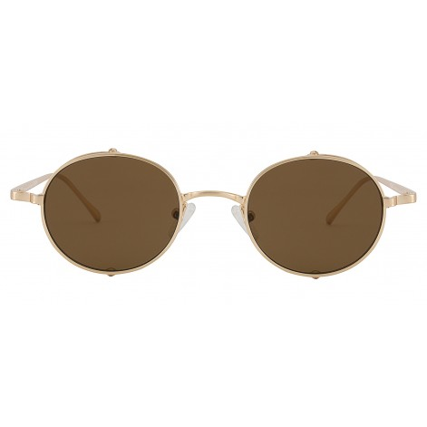 Mokki  Sunglasses for men and woman  #2282 - gold