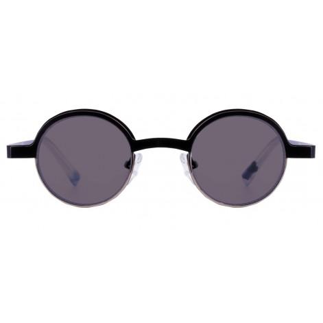 Mokki Sunglasses for men and woman #2268 round black