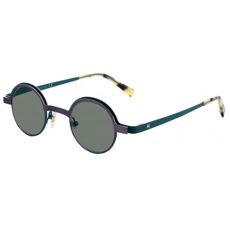 Mokki Sunglasses for men and woman #2268 round green