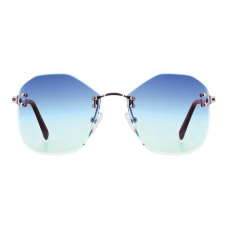 Solbrille #2269 Mokki rammeløse