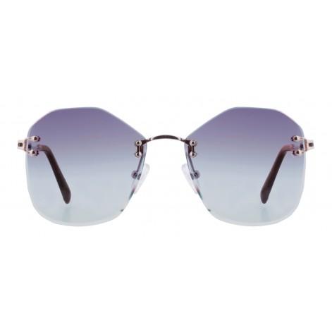 Mokki Sunglasses for woman #2271 blue oversized