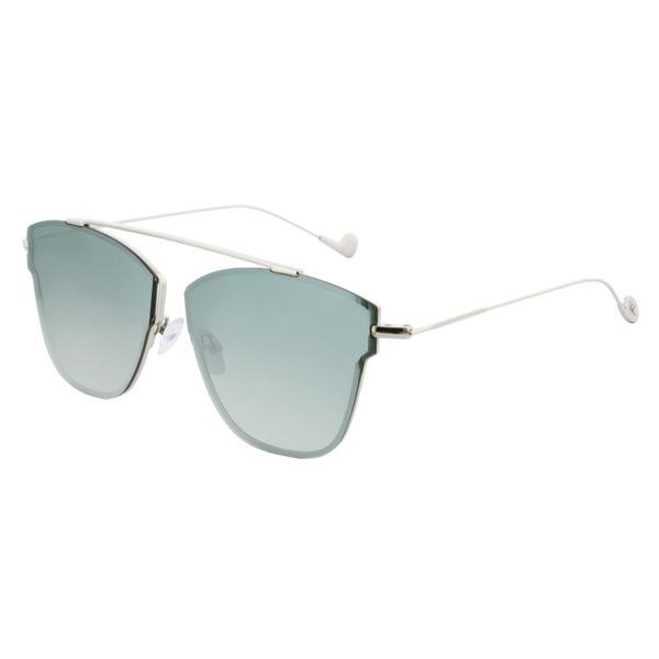 Mokki solbriller 18k gullbelagt for mann og dame #2266-grønn