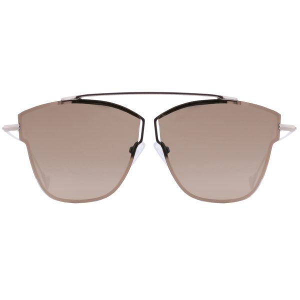 Mokki solbriller 18k gullbelagt for mann og dame #2266-brun